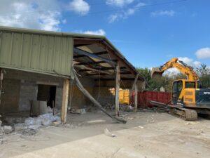 Phase 1 demolition